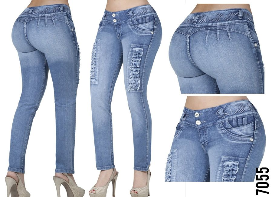 Verox Jeans Jeans Colombianos Levanta Cola Denim Jeans Ideas Tight Jeans Girls Women Jeans