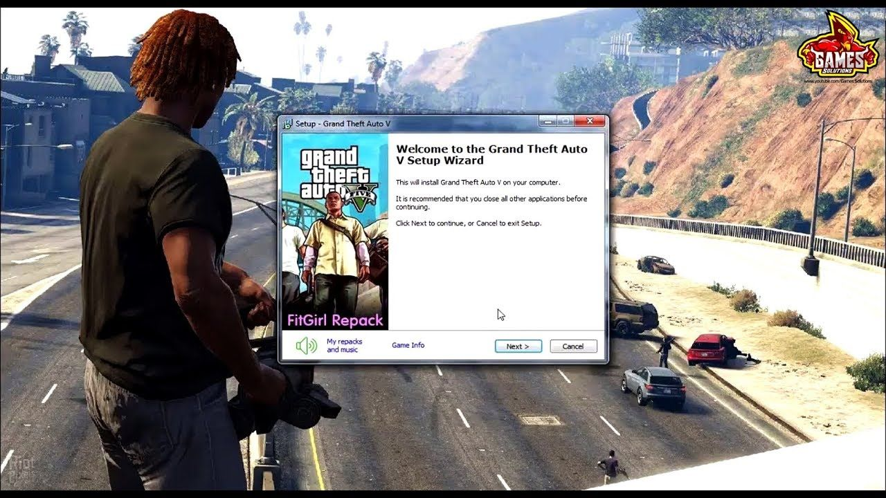 Grand Theft Auto V Fitgirl Ultra Repack Install - Low End PC