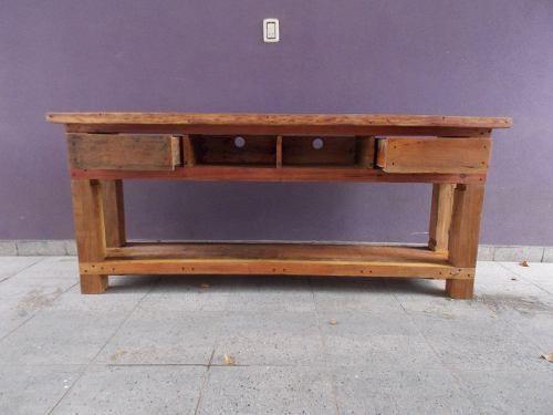 Fabricacion de muebles rusticos y modernos de quebracho blanco