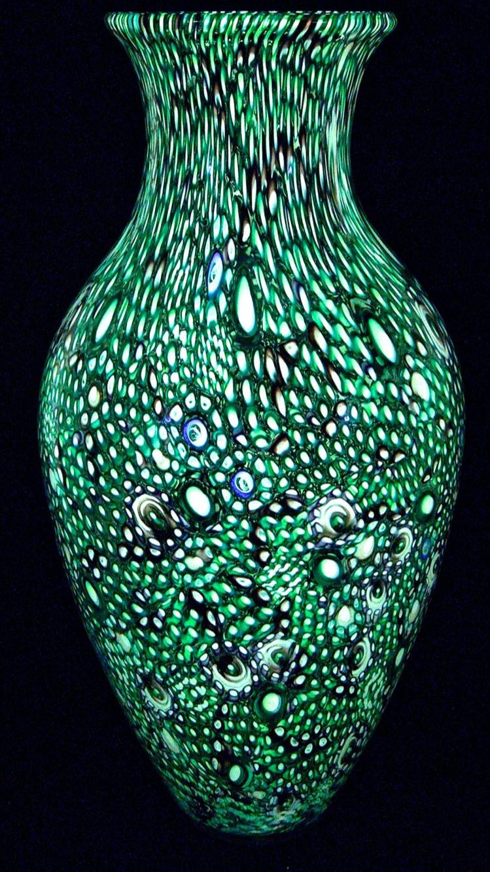 Murrine Vases by Michael Egan