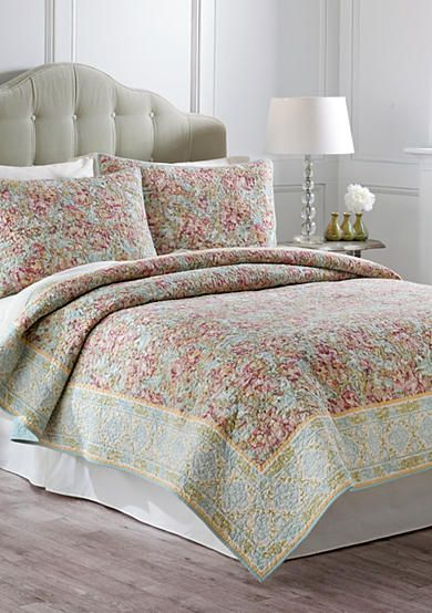 jessica simpson marina quilt collection - belk | bedding and