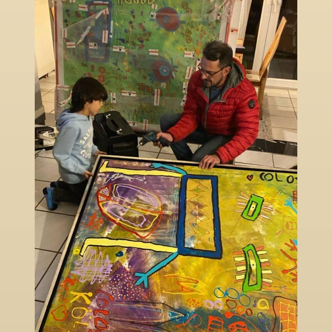 Gefallt 1 Mal 0 Kommentare Galerie Wehr Galeriewehr Auf Instagram Bildmontage Mit Michail Akar Sein Neuestes Bild W Painting Pinball Machine Pinball