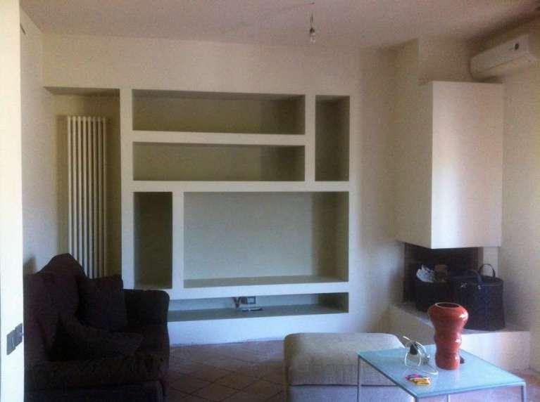Idee pareti soggiorno in cartongesso - Soluzioni con il cartongesso ...