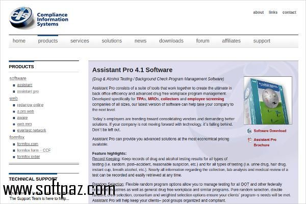 Get the Drug Testing Software Manage Suite software for windows - free resume software download