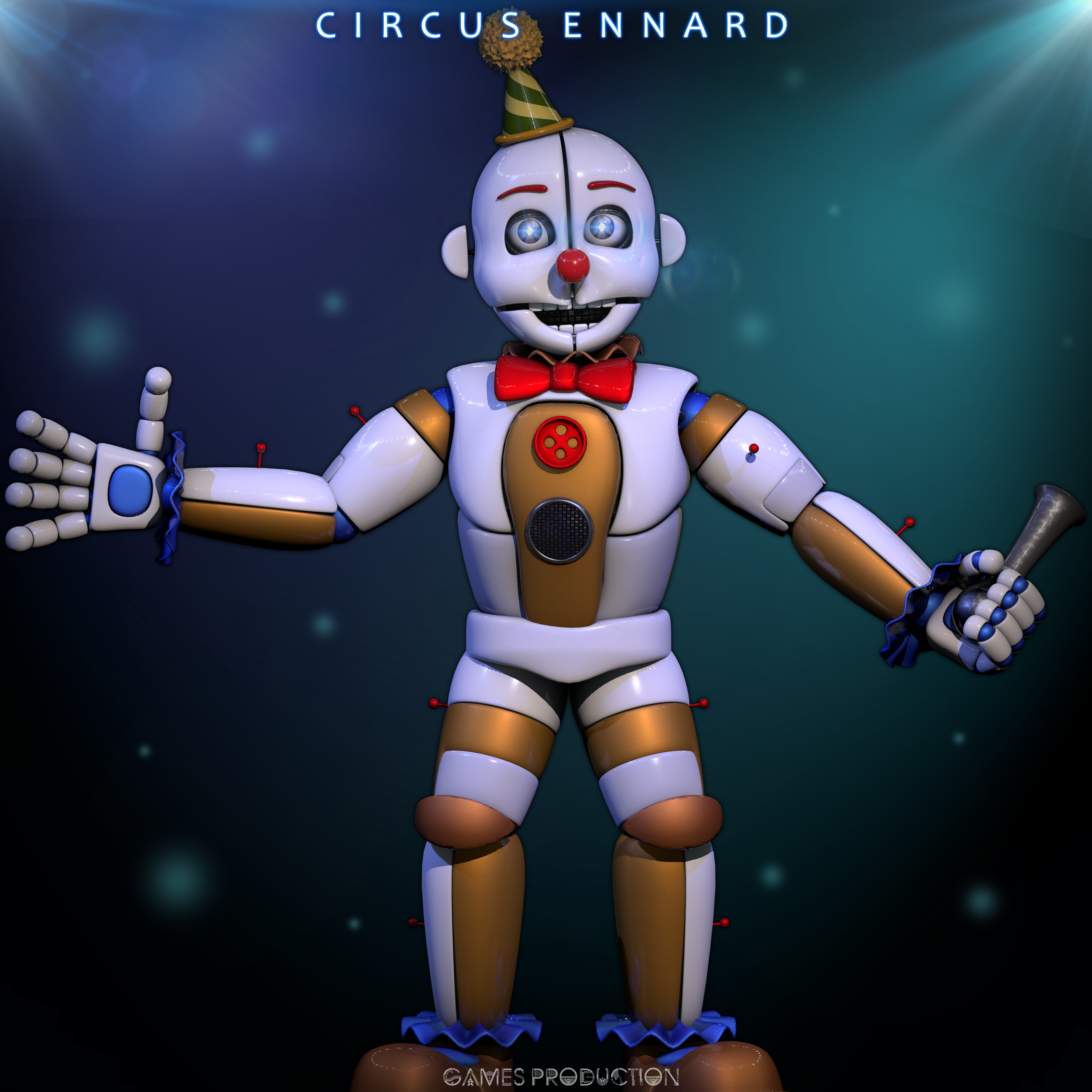 Circus Ennard By Gamesproduction Dasaw0Upng (4096 4096)