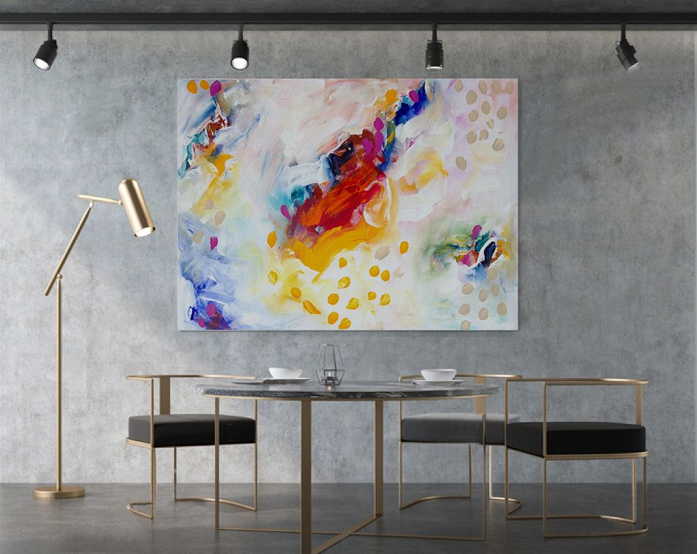 Office Abstract Art Canvases