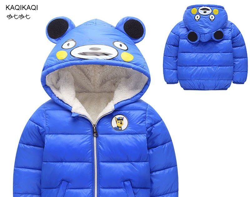 e9718d6f2 Big Discount Children Cotton Outerwear Winter Jackets Baby Girls Boys Coat  Thickening Hoodies Kids Cotton Down