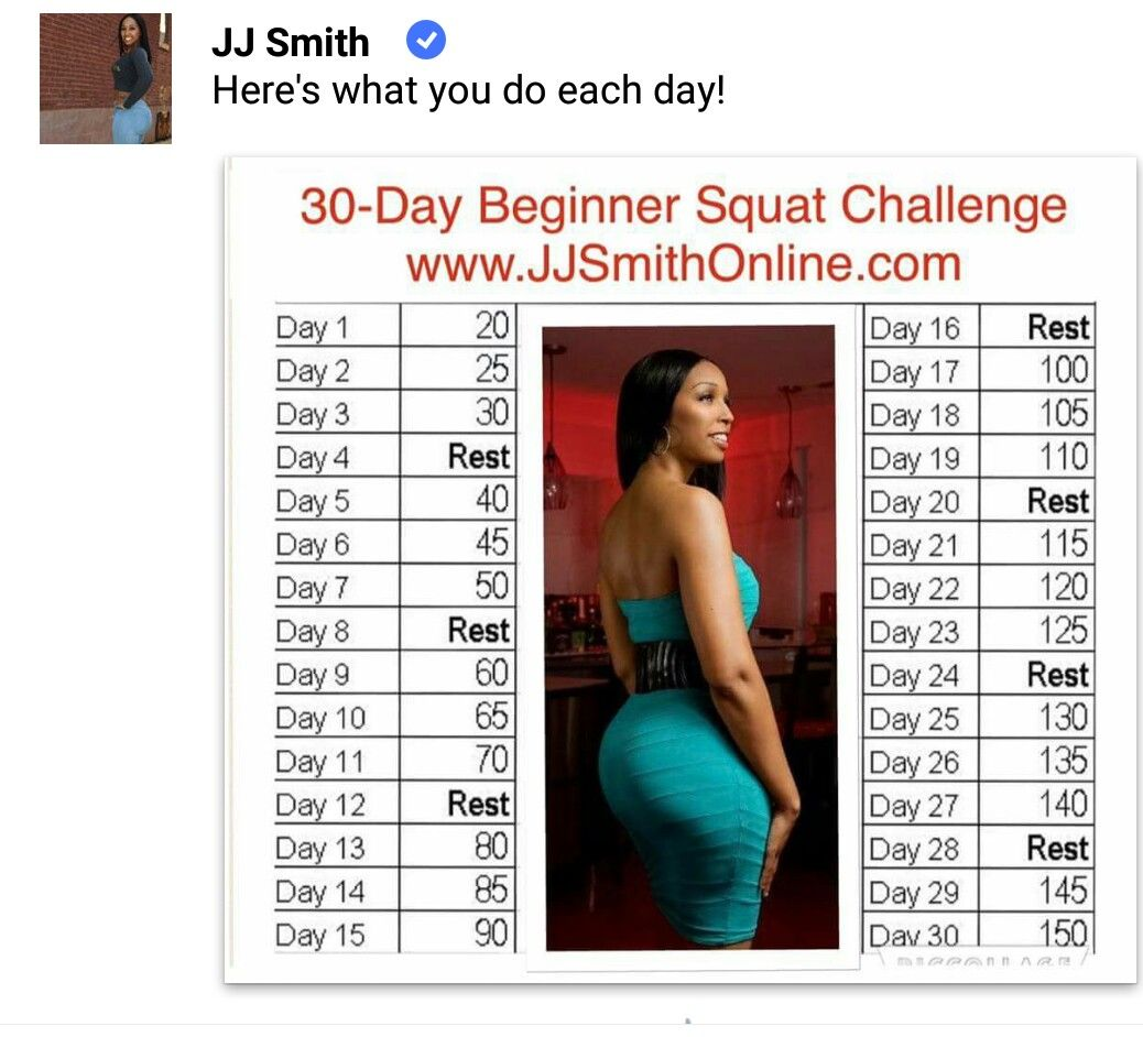 Pin by Nadia on Workouts Cleaning chart, Squat challenge