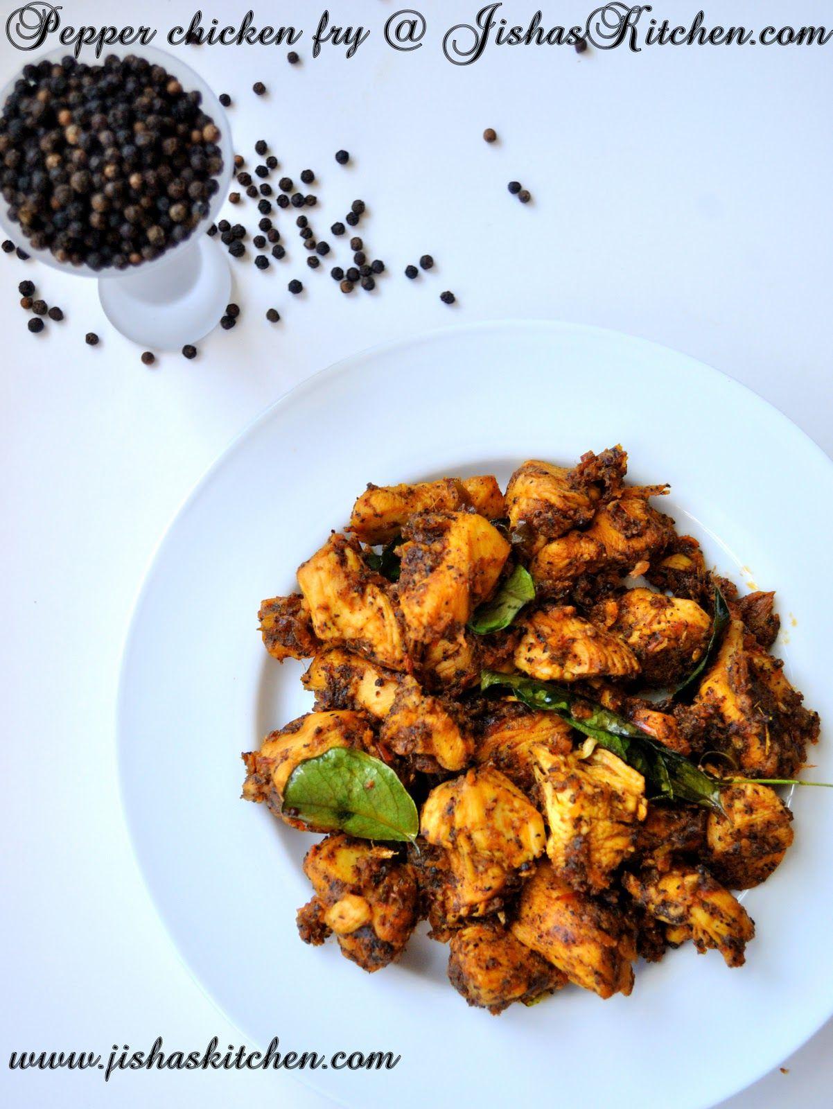 Jishas kitchen nadan chicken pepper fry indian recipes kerala nadan chicken pepper fry indian recipes kerala nadan recipes forumfinder Images