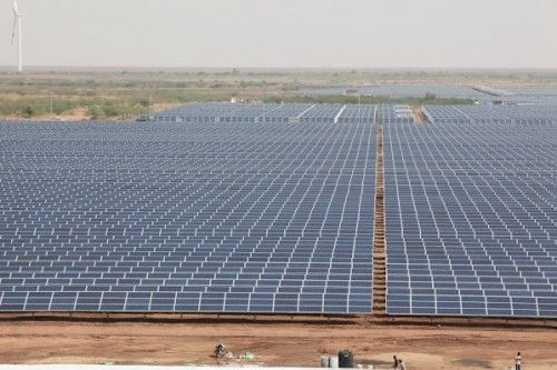 India Flips The Switch On World S Largest Solar Power Plant Solar Solar Panels Solar Power Plant