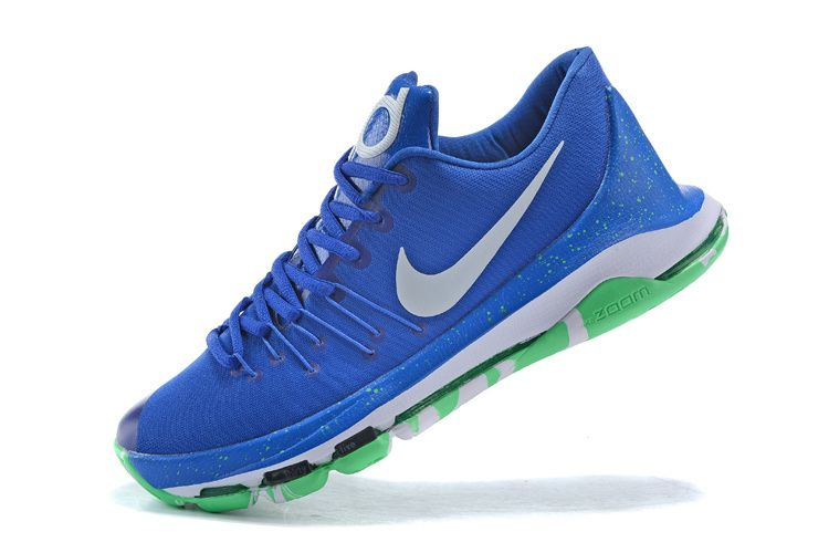 quality design bee09 04572 2016-2017 Sale KD 8 VIII ID Hyper Blue White Poison Green New Arrival 2016