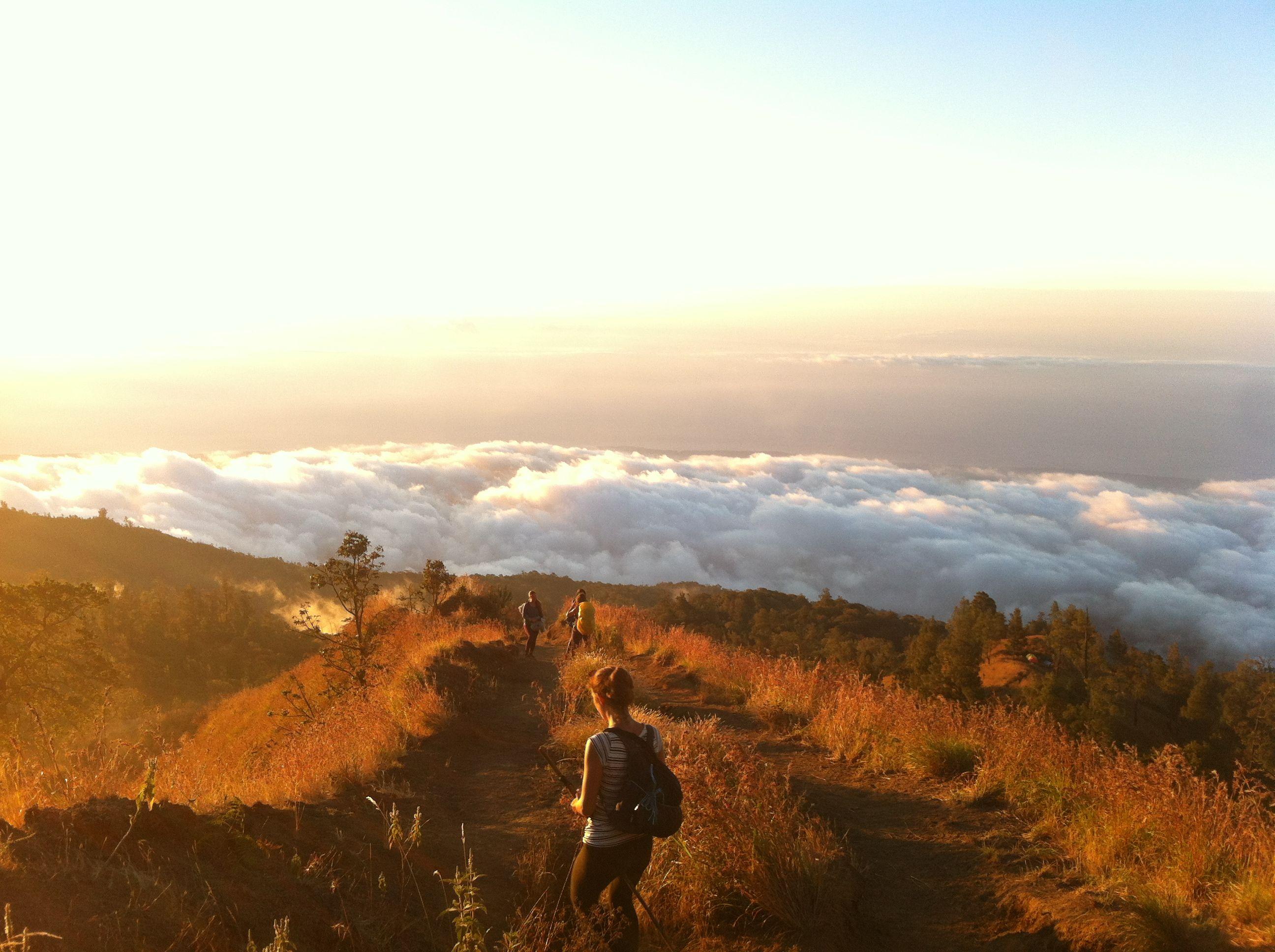 Mt Rinjani rim, Lombok, Indonesia