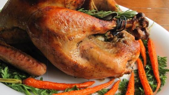 Chef John S Roast Turkey And Gravy Recipe Roasted Turkey Gravy Recipes Thanksgiving Dishes