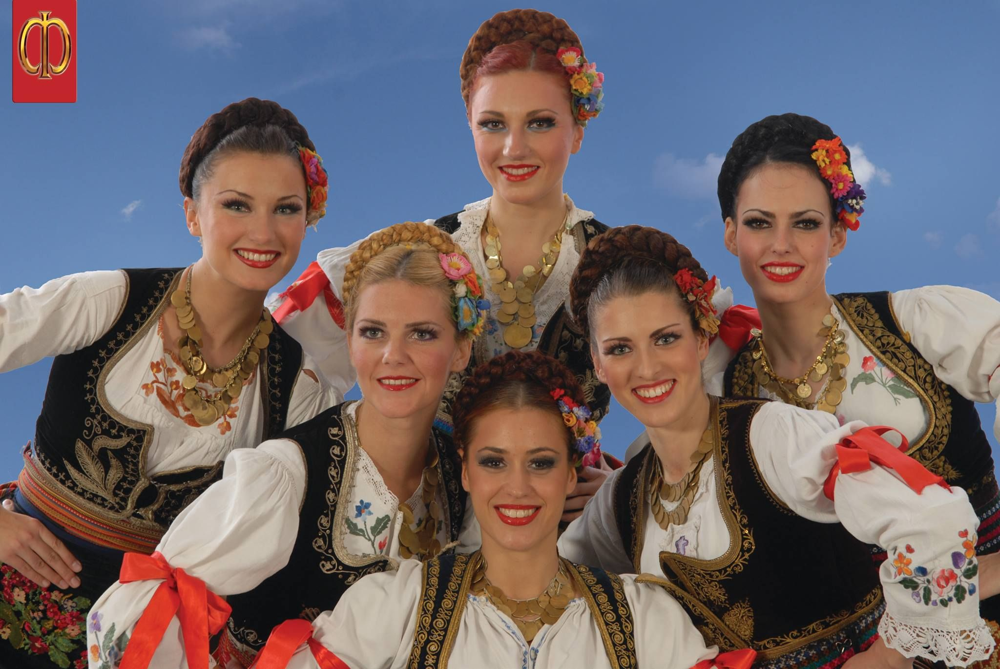Serbian Women in Traditional Clothes from Šumadija