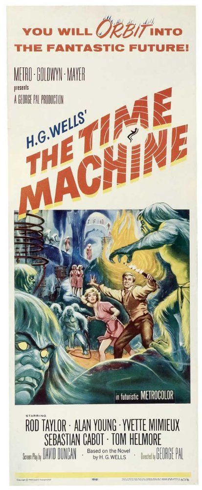 The Time Machine 1960 Imdb Futurismo Proyectos