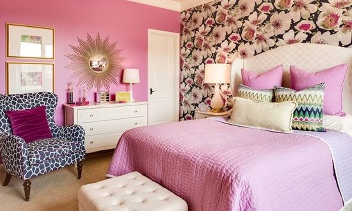 Decoration ideas for bedroom  simple but cute feminine bedroom decoration ideas  feminine