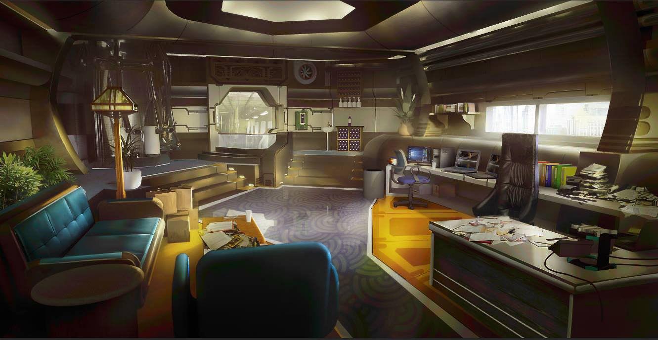 pingl par durand sur futur en 2019 pinterest int rieur vaisseau spatial vaisseau spatial. Black Bedroom Furniture Sets. Home Design Ideas