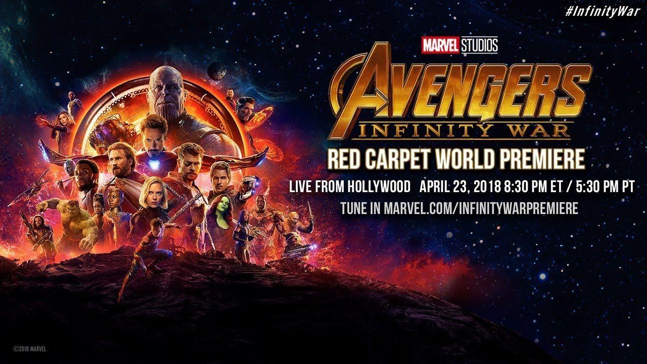 Marvel Studios Avengers Infinity War Red Carpet World Premiere
