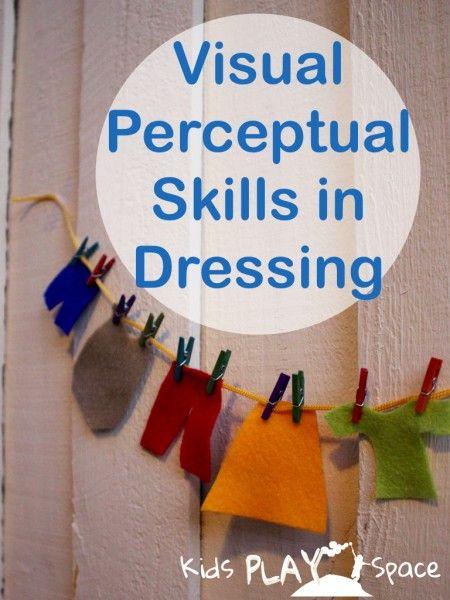 Visual Perceptual Skills In Dressing Kps 001 Visual Perception Activities Visual Perceptual Activities Occupational Therapy Kids