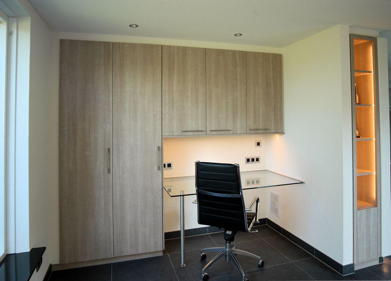 Moderne woning ingebouwde verlichting interior design
