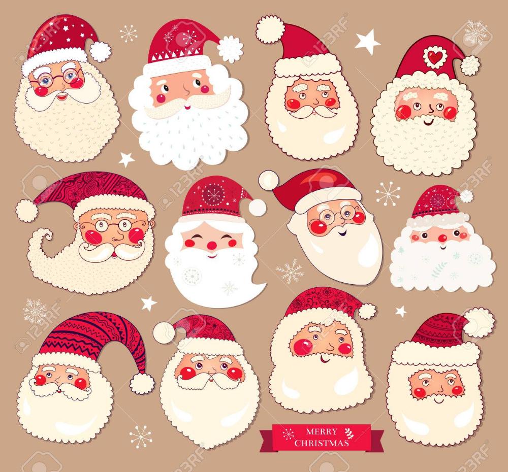 Christmas Santa Clipart, Transparent PNG Clipart Images Free Download -  ClipartMax