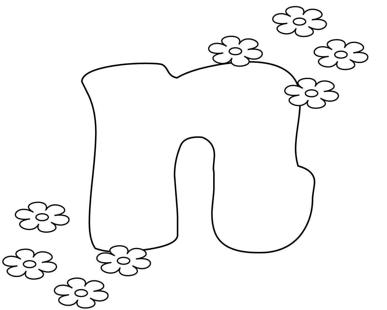 Printable Letter N Coloring Page For Your Loved Ones With Images