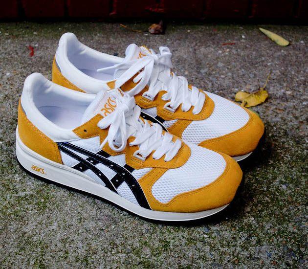 Asics Gel Epirus-Mustard-White-Navy   sneakers   Pinterest ...