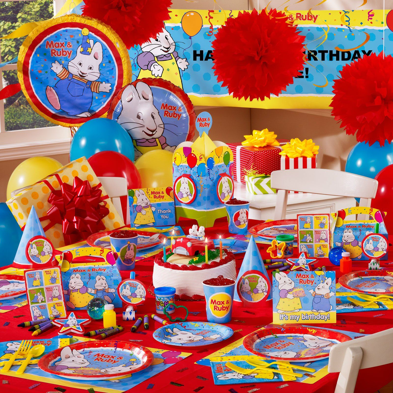 Max and Ruby Birthday Party | Do It For the Chitlins | Pinterest ...