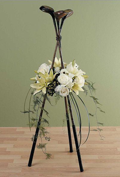 Memorial Service Ideas For The 13 Most Popular Hobbies Funeral Flowers Funeral Floral Funeral Floral Arrangements
