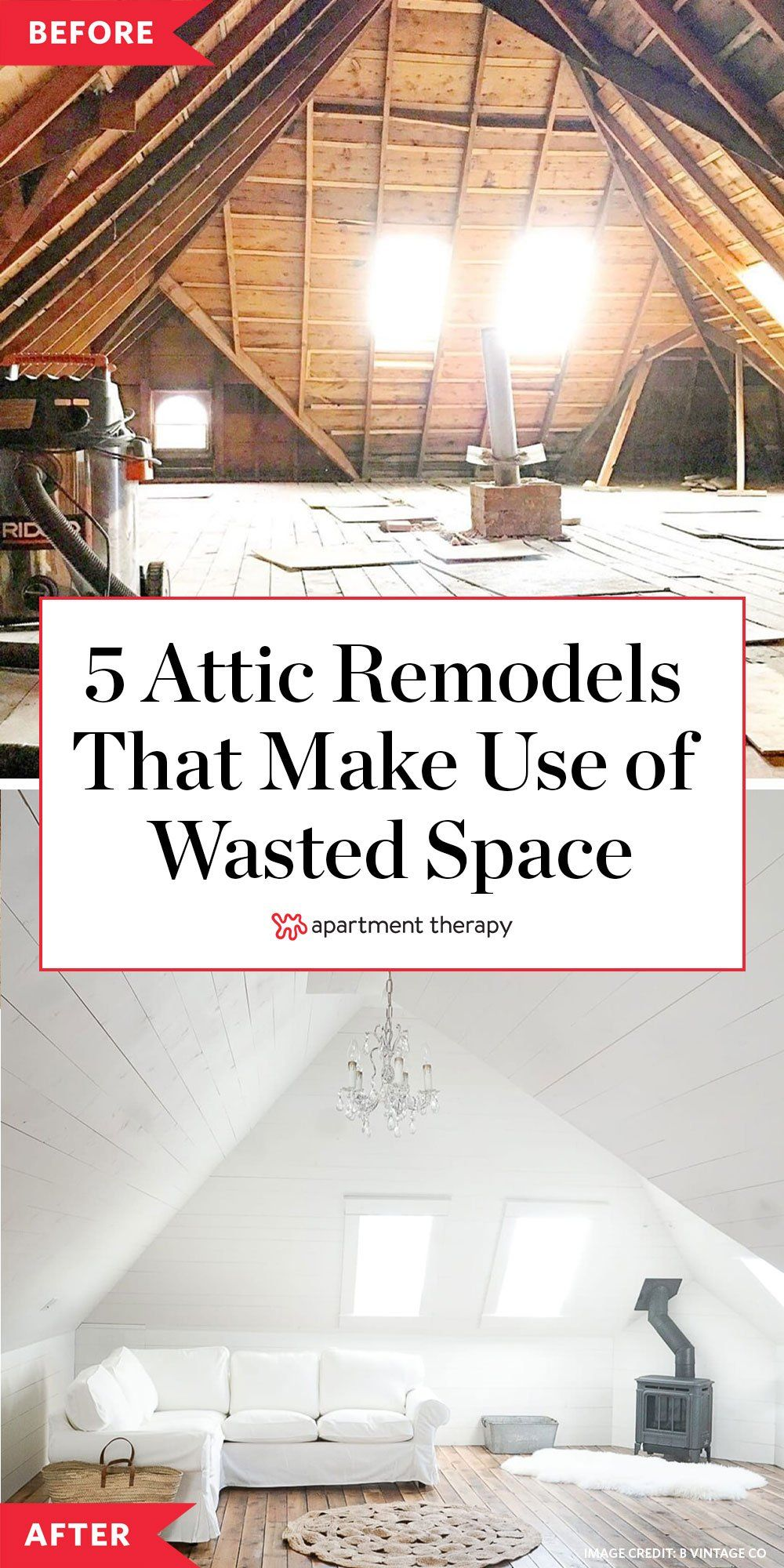 5 Dreamy Attic Remodels That Take Cozy Style All The Way To The Top In 2020 Attic Remodel Remodel Attic Rooms
