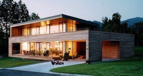 Au coin du feu dans une maison en bois Vos expériences - prix de construction d une maison
