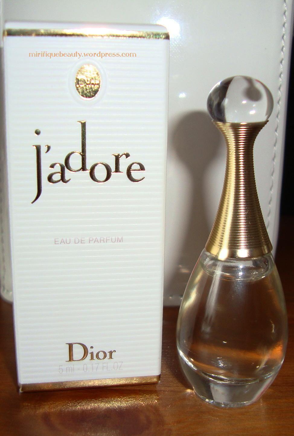 Christian Dior perfume, J'adore