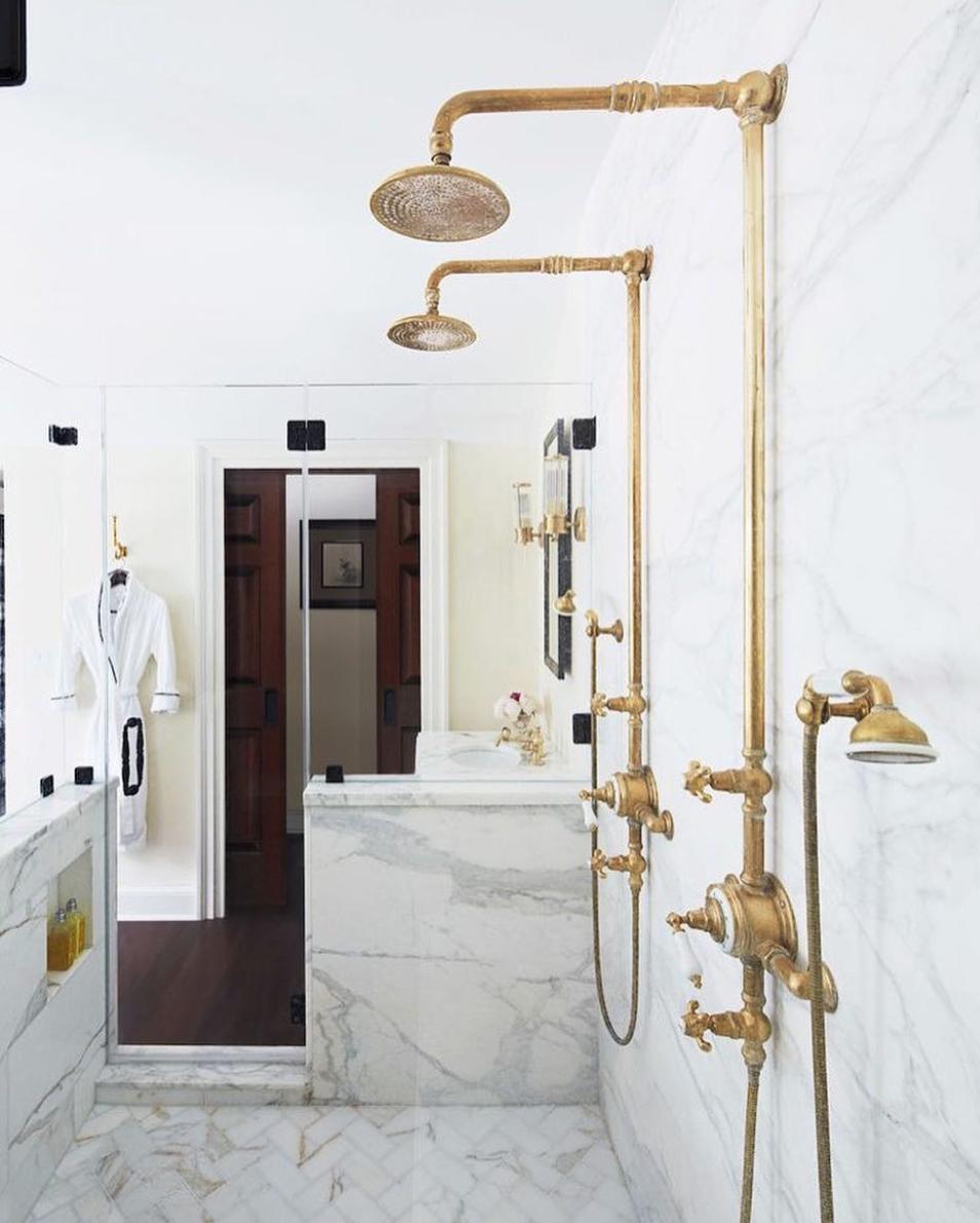 traditional bathroom design by Bryan Joyce photo by Mark Weinberg ...