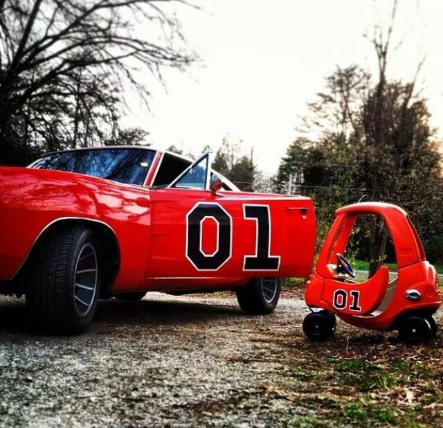 The General Lee And His Son. Lol