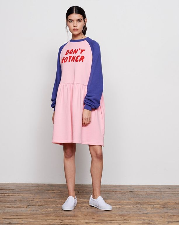 904b6008a0 Lazy Oaf Don t Bother Sweater Dress - Everything - Categories - Womens