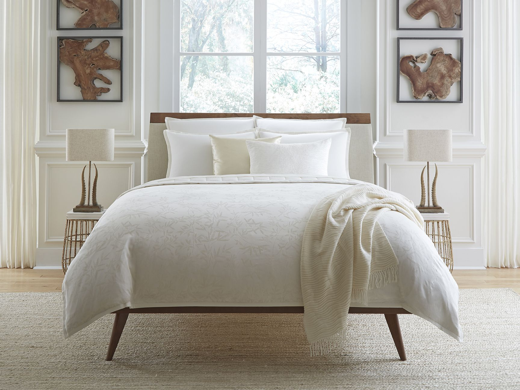 This Cotton Cashmere Bedding Is Our Most Luxurious Innovation Yet Inspired By Italian Landscapes Organic Vines Are Subtlety Woven Into The Fabric