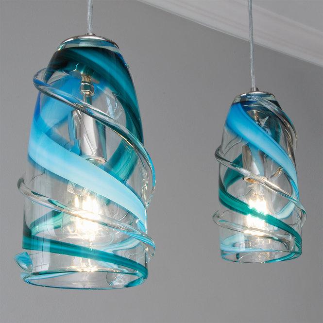 Calypso Swirl Pendant - Shades of Light