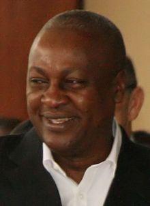 John Dramani Mahama (/məˈhɑːmə/; born 29 November 1958) is a Ghanaian politician who has been President of Ghana since July 2012.