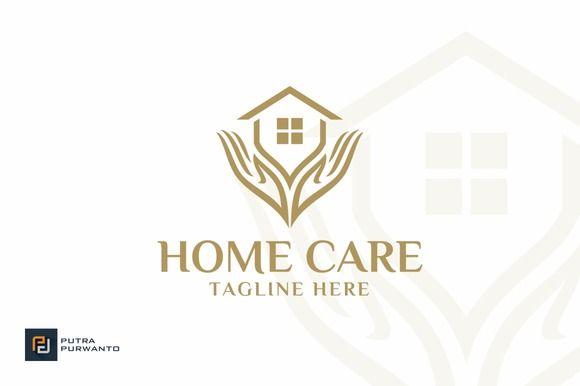 Home Care House Logo Home Logo Logo Inspiration Branding
