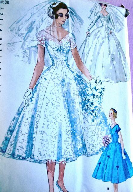 Luxury Simplicity Wedding Dress Patterns Crest - Womens Dresses ...