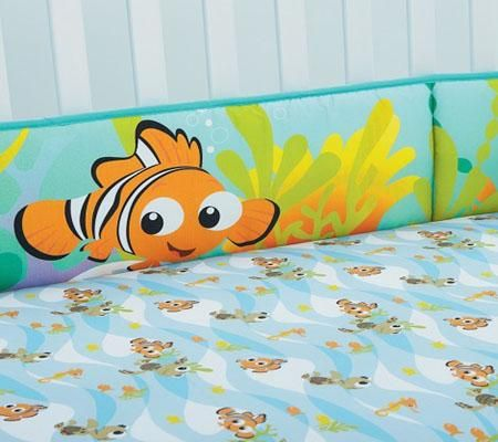 Finding Nemo Decor In The Nursery Baby Disney Baby
