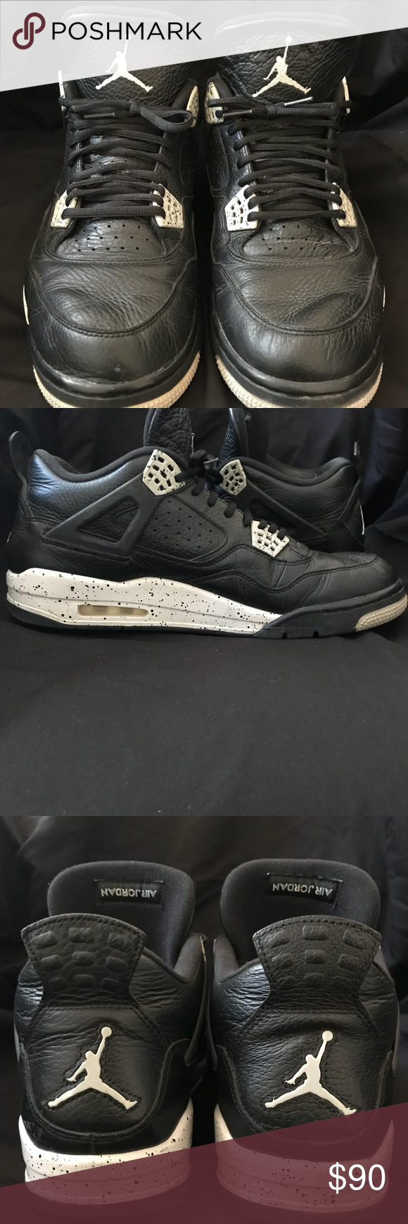 ee2241d29814 Nike Air Jordan IV 4 Retro Oreo Tech Grey Size 13 After years of its  original