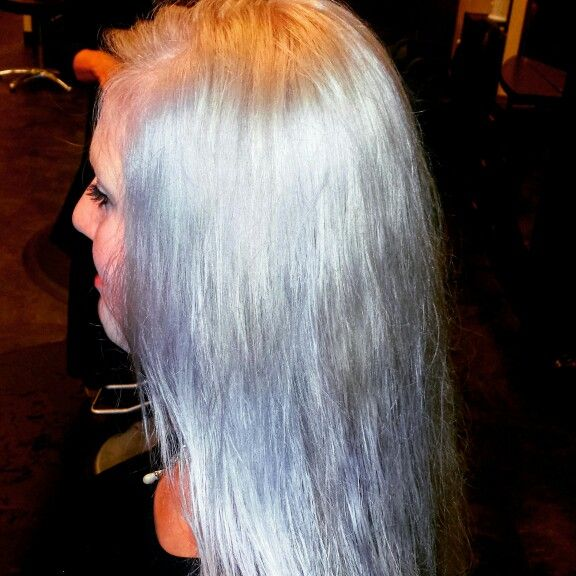 Matrix Color Sync Formula For Gray Lavender Hair 1oz Of Spa 1 2