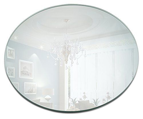 12 Inch Round Mirror Candle Plate With Bevelled Edge Set Of 12 Click Image For More Details It Is Amazon Aff Mirror Candle Plate Candle Mirror Candle Plate