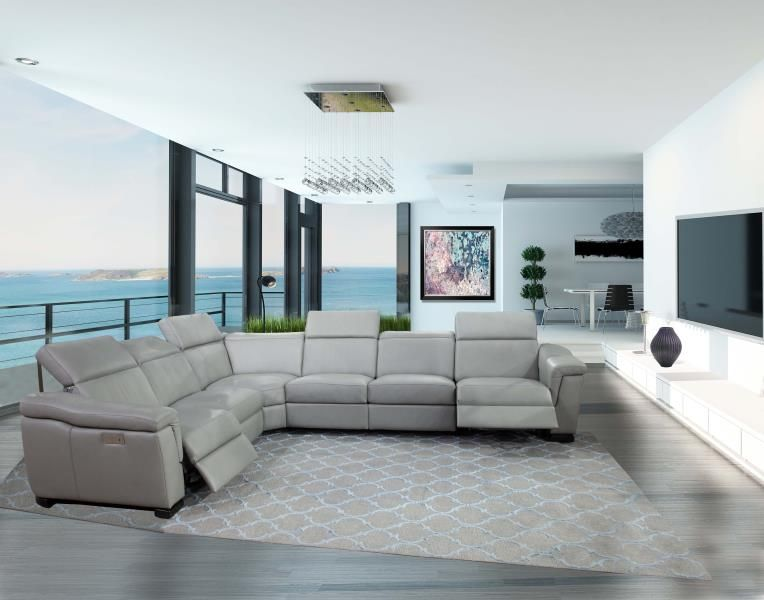 Omnia Leather Furniture Ponza Sectional Come See Our New Italian Inspired Bergamo Collection Comprised Of 6 New S Leather Furniture Furniture Luxury Sofa