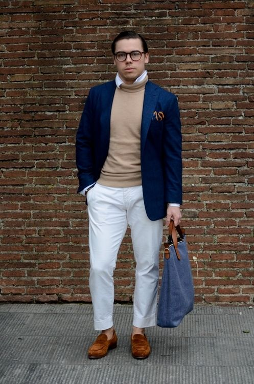 Day 4 @ Pitti Blazer: Mabro Rollneck: Paul&Friends Shirt:...