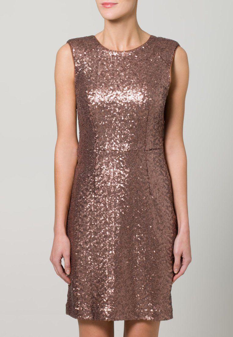 mint&berry - Cocktailkleid / festliches Kleid - nude | Glitter ...