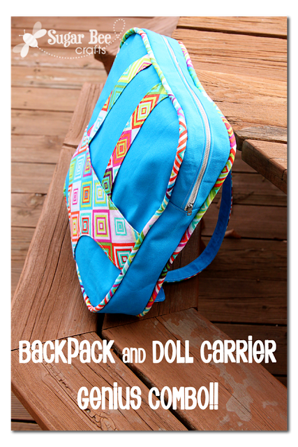 Backpack and Doll Carrier - gift idea!!