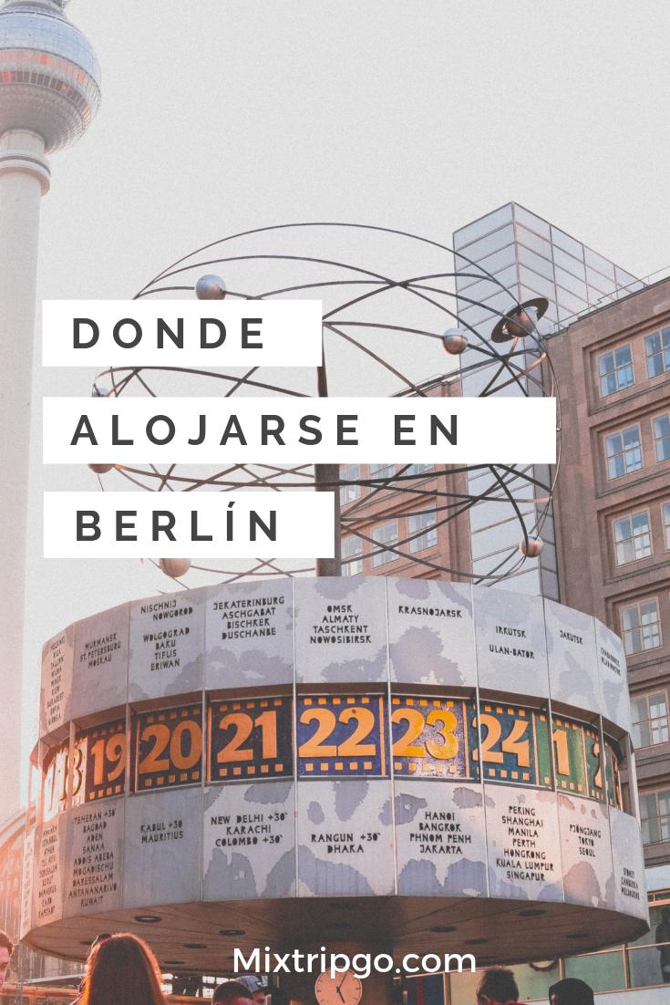 Si Estás Planeando Tu Próximo Viaje A La Capital De Alemania No Te Pierdas Cuales Son Las Diferentes Zonas Para Encontrar Tu Alojamiento En Berlín Alojamien