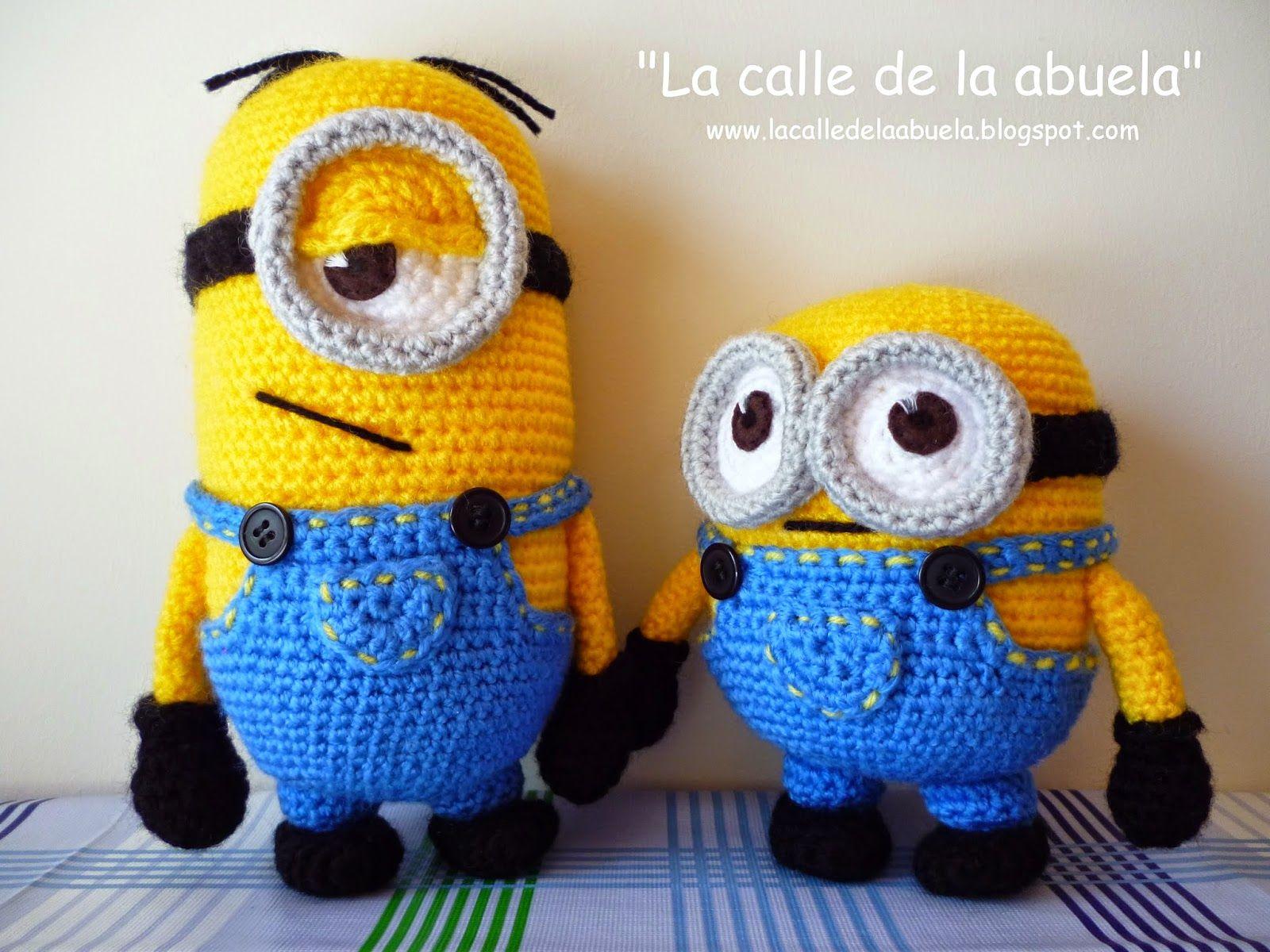 Patron Minion Amigurumi : La calle de la abuela: minions crochet like monet pinterest